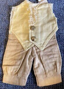 Gorgeous Vintage Cotton Pants For Antique Or Vintage Doll