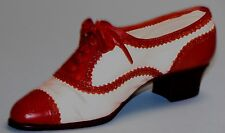 "Just the Right Shoe, Raine, ""Brogue Ballyhoo"" mixed media miniature # 25416 Coa"