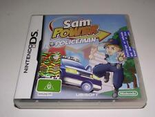 Sam Power Policeman Nintendo DS 2DS 3DS Game Preloved *Complete*