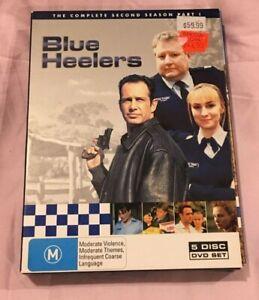 Blue Heelers : Season 2 : Part 1 (DVD, 2005, 5-Disc Set) Very Good Condition R4