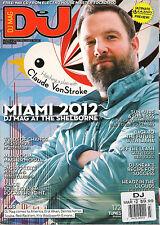DJ MAG UK No. 507 March 2012 Claude VonStroke Miami Catz 'N Dogz Sasha NO CD