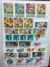 Olympic and Soccer World Cup, Coupe du Monde Football stamp lot