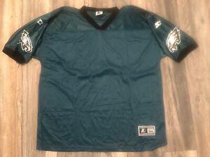 New Vintage Starter Philadelphia Eagles NFL Blank Jersey Size 54