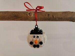 Lego® Weihnachtskugel für Tannenbaum Schmuck Schneemann Weihnachten Baumschmuck