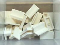 20x LEGO Old Light Gray Panel 1 x 2 x 1 Bench Train Car Sides #4865 30010