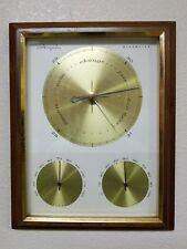 Vintage Mid-Century Modern Airguide Barometer