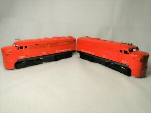 2 LIONEL train engines THE TEXAS SPECIAL 1055 locomotives used engine trains