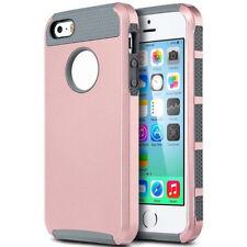 Shockproof Hybrid Rugged Rubber Hard Back Cover Case Skin for Apple iPhone 5s SE