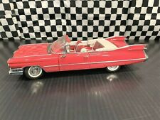 Danbury Mint 1959 Cadillac Series 62 Convertible - Red - 1:24 Diecast Boxed