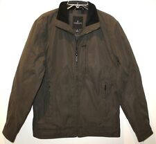 London Fog Mens Loden Brown MicroFiber Lined Jacket NWT $200 Size S