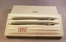Cross Classic Gray Pen Pencil Set With SNOOPY Logo. New Old Stock Rare