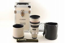 【B V.Good】 Canon EF 300mm f/2.8 L USM AF Lens w/Trunk Hood From JAPAN #2965