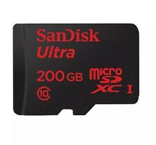 SanDisk Ultra Micro SD with SDXC 200GB Memory Card