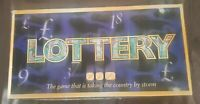LOTTERY Board Game by Paul Lamond Games 2007 100% Complete With Instructions