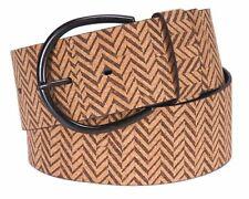 Tamaris Leather Belt W105 Gürtel Accessoire Beige Braun Neu