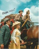 Hand Signed 8x10 photo ANGELA DOUGLAS - CARRY ON COWBOY + COA