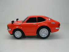 "TOYOTA COROLLA LEVIN TE27 Orang Pull Back Car 4.4"" TOYOTA AUTOMOBILE MUSEUM NEW"