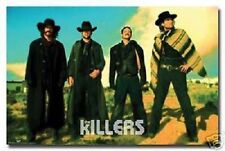 THE KILLERS MUSIC GROUP WESTERN COWBOYS NEW POSTER 22x34 FREE SHIPPING