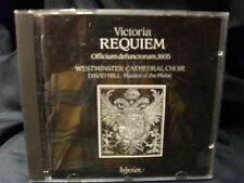 Victoria - Requiem Mass  -David Hill/Choir Of Westminster Cathedral London