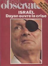 Le Nouvel Observateur   N°781   29 Oct Au 4 Novembre 1979: Israel dayan ouvre la