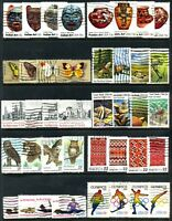 10 Different United States SeTenant Stamp Sets Used 40 Different Stamps Total