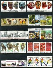 10 Different US Complete Stamp Sets Used 40 Different Stamps Total