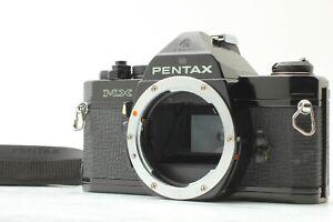 *Near Mint* Pentax MX Black 35mm SLR Film Camera Body From JAPAN
