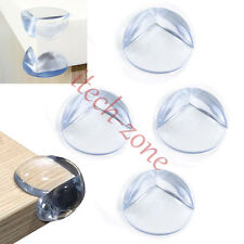 4 Pcs Table Glass Corner Edge Protection Cover For Child Baby Silicone Protector