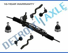 NEW 7pc Complete Front Suspension Kit + Rack And Pinion Assembly BMW 3 Series