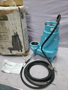 Little Giant 20S-CIM 2-HP 230-Volt 60 HZ Cast Iron Sewage Sump Pump 1 Phase