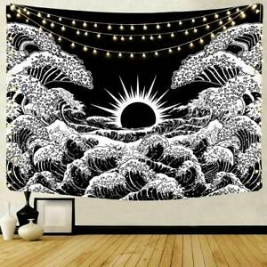 Sunset Printed Wall Hangings Hippie Tapestry Home Living Room Art Mat Decoration