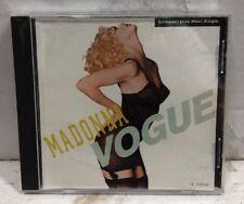 Madonna Vogue CD Single