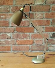 Vintage Adjustable Wood Effect Desk Lamp/Light REWIRED & PAT Tested
