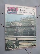 vie du rail 1975 1490 CHATOU CRéCY EN BRIE L'ABBAYE L'éCOLE ERMONT MONTMORENCY C