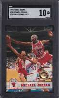 1993-94 HOOPS 5TH ANNIVERSARY GOLD MICHAEL JORDAN SGC 10