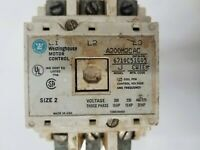 WESTINGHOUSE STARTER CAT A200M2CAC MODEL J SIZE 2 6710C51G05