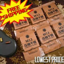 1 PACK CHINA EMERGENCY FOOD CHINESE NAVY MRE RATIONS Type M13 7 kinds of flavors