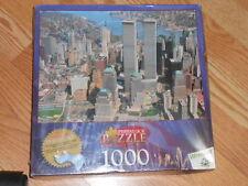Wrebbit Perfalock Jigsaw Puzzle 1000 Pieces New York City NEW Twin Towers