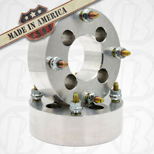 """4 Lug Wheel Spacers 4x4.25 To 4x4.25 (4x108mm) Wheel Adapters 2"""" Thick x2"""