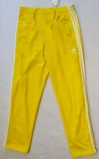 Adidas Originals Men's Size Medium Firebird Track Pants BRIGHT Yellow ED7014 New