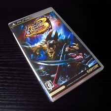 PSP Monster Hunter Portable 3nd SONY PlayStation Portable JAPAN Import UMD #0104