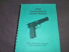 FEG, P9M  PISTOL, INSTRUCTION MANUAL,   10 Pages