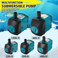 Aquarium Tauchpumpen Förderpumpe Teichpumpe Wasserpumpe Pumpe 220-1200L/H 220V !