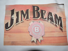 1 Jim Beam Wooden Sign Quilt Block Whiskey Quilting Blocks Squares Sewing Beer