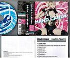 MADONNA Hard Candy JAPAN CD WPCR-12880 w/OBI+JAPANESE BOOKLET Free S&H/P&P