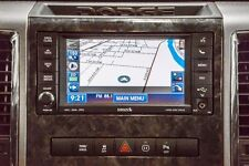 DODGE RAM 1500 2500 3500 HD OEM 730N RHR DVD GPS NAVIGATION RADIO 2011 2012