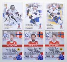 2019 BY cards IIHF World Championship Team Norway Pick a Player Card