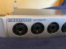 presonus firestudio project interface mixing mastering drums recording