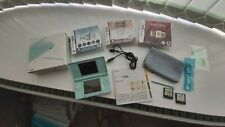 Nintendo DS Lite Ice Blue Console and games VGC