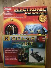 Schuco Electronic Erstkontakt und JC Solar Technology Starter Kit  Baukästen